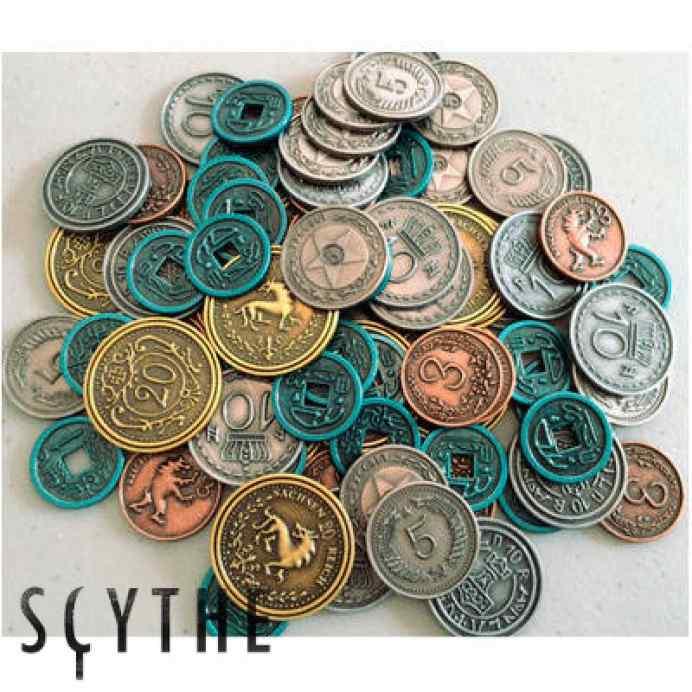 Scythe monedas scythe TABLERUM