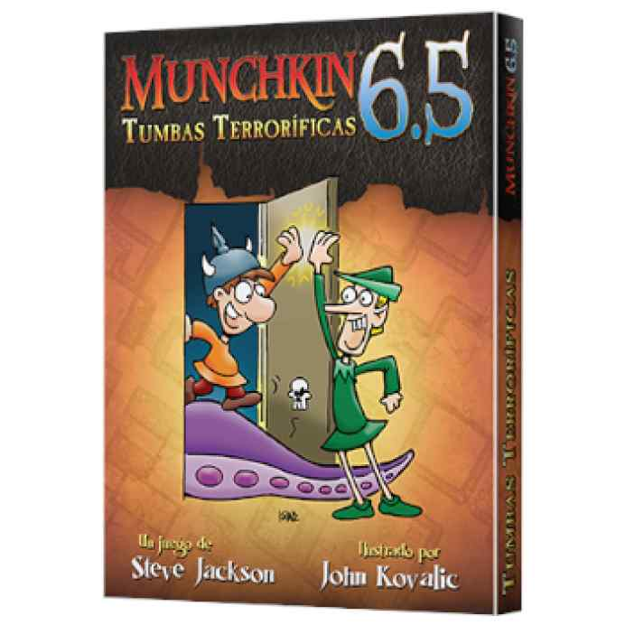 Munchkin 6.5: Tumbas Terroríficas TABLERUM