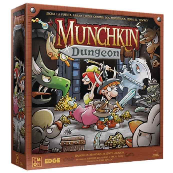 Munchkin Dungeon TABLERUM