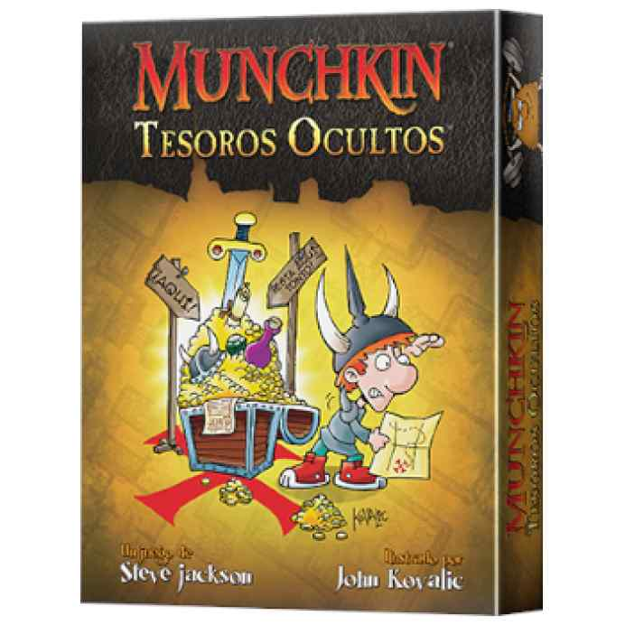 Munchkin: Tesoros Ocultos TABLERUM