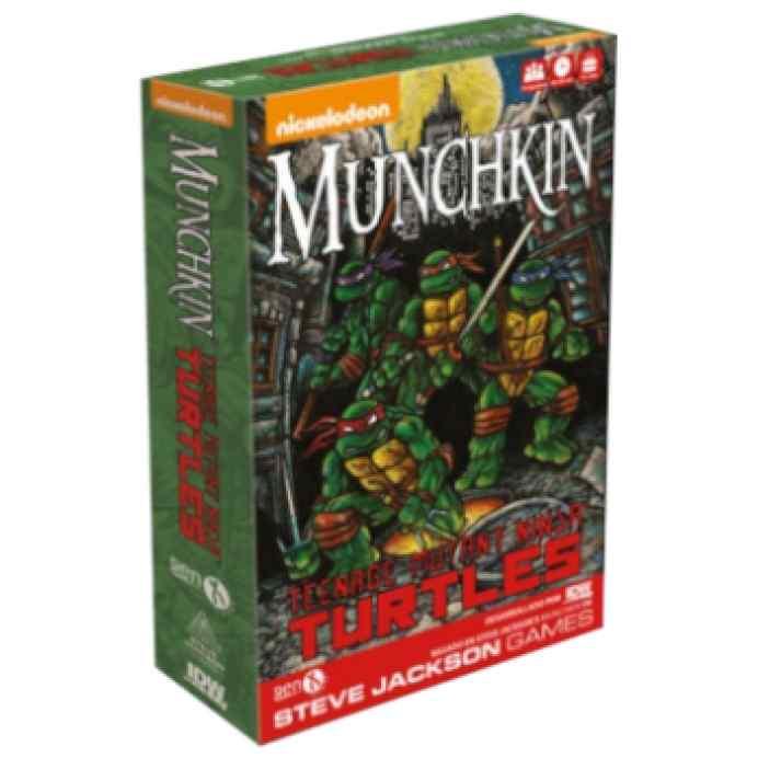 Munchkin Tortugas Ninja TABLERUM