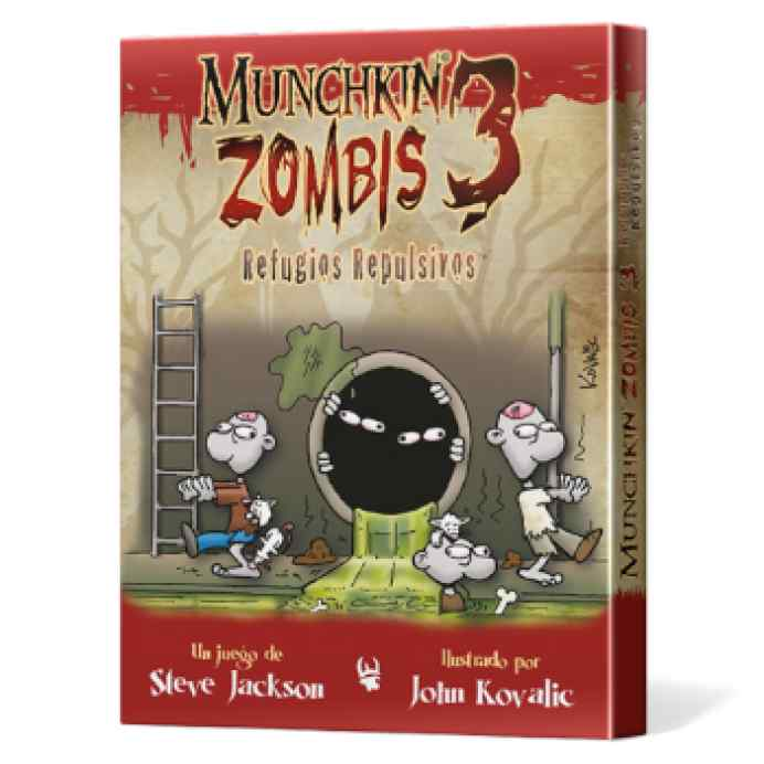 Munchkin Zombis 3: Refugios Repulsivos TABLERUM