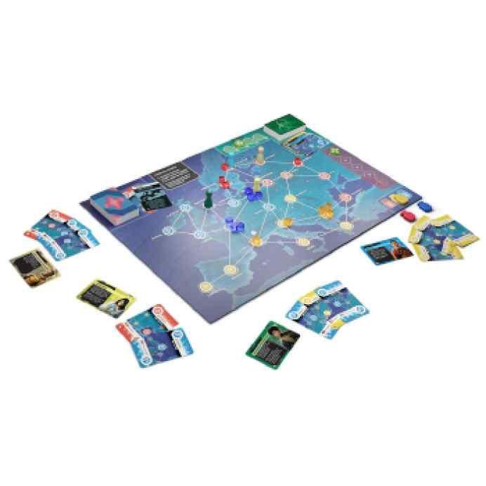 Pandemic Zona 0 Europa TABLERUM
