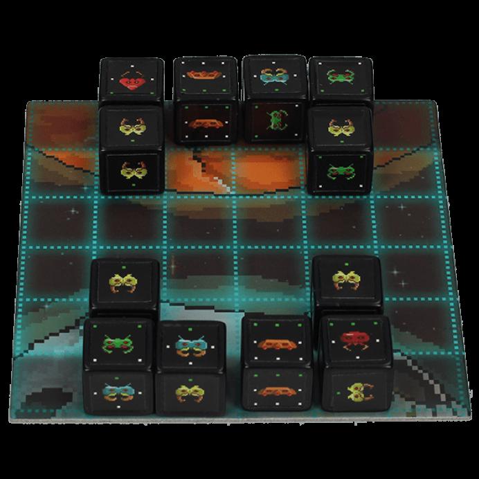 pocket invaders juego de mesa abierto
