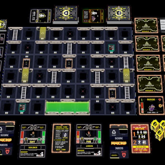 juego de mesa power up kickstarter