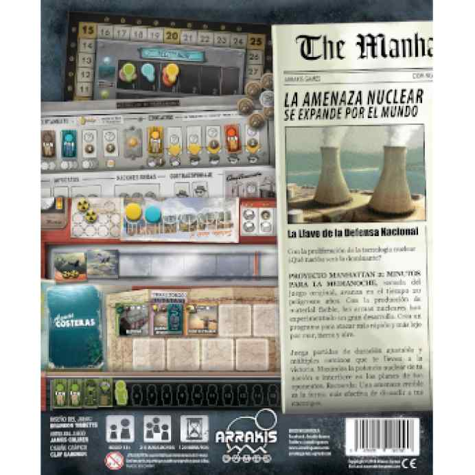 El Proyecto Manhattan 2: Minutos para la Medianoche TABLERUM