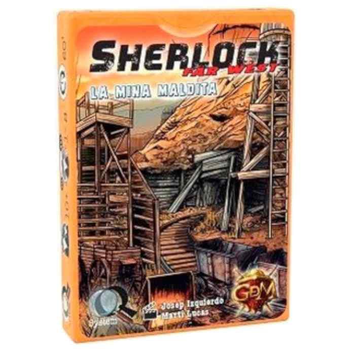 Q Sherlock Far West: La Mina Maldita TABLERUM