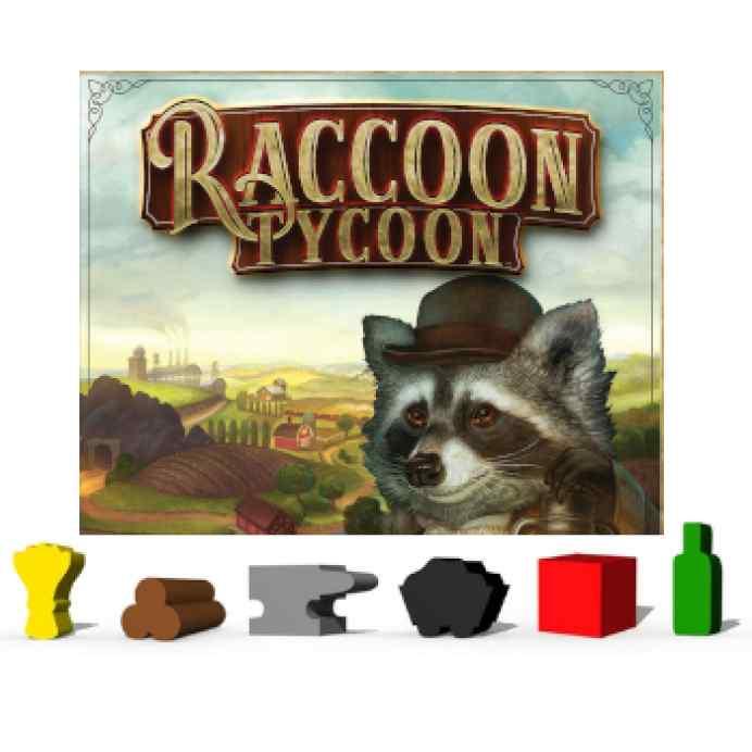 Raccoon Tycoon Componentes Madera KS TABLERUM