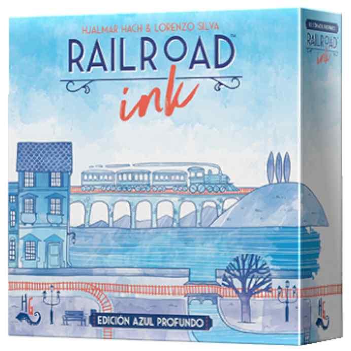 Railroad Ink: Edición Azul Profundo TABLERUM