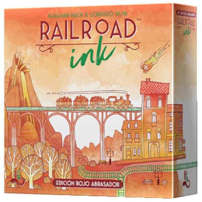 Railroad Ink: Edición Rojo Abrasador TABLERUM
