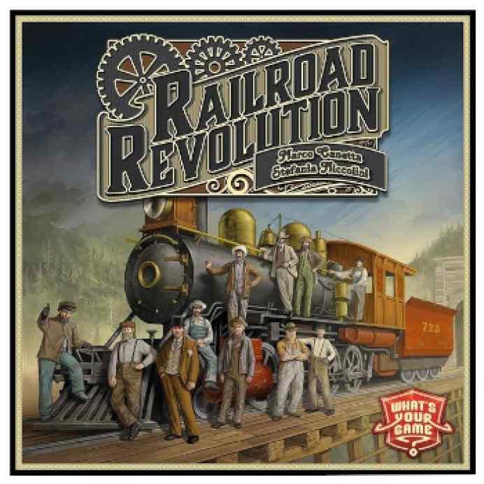 Railroad Revolution (INGLÉS) TABLERUM
