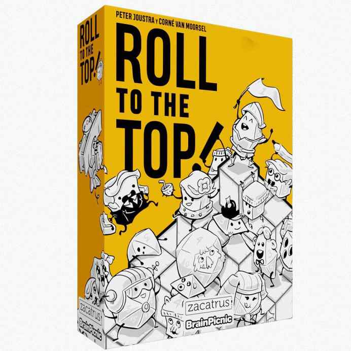 roll to the top juego de mesa