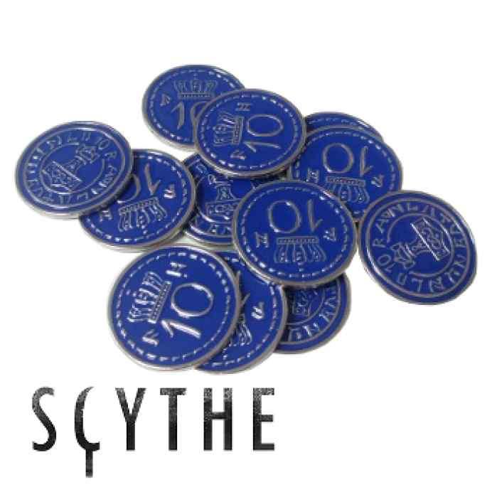 Scythe: Monedas Metálicas $10 (x15) TABLERUM