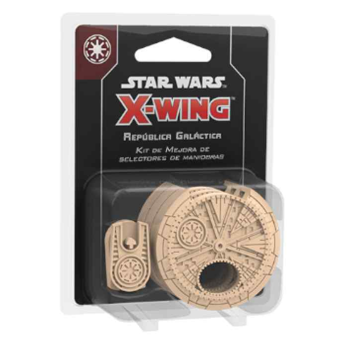 X-Wing (2ª Ed): Kit de Mejora de selectores de maniobras para la República Galáctica TABLERUM