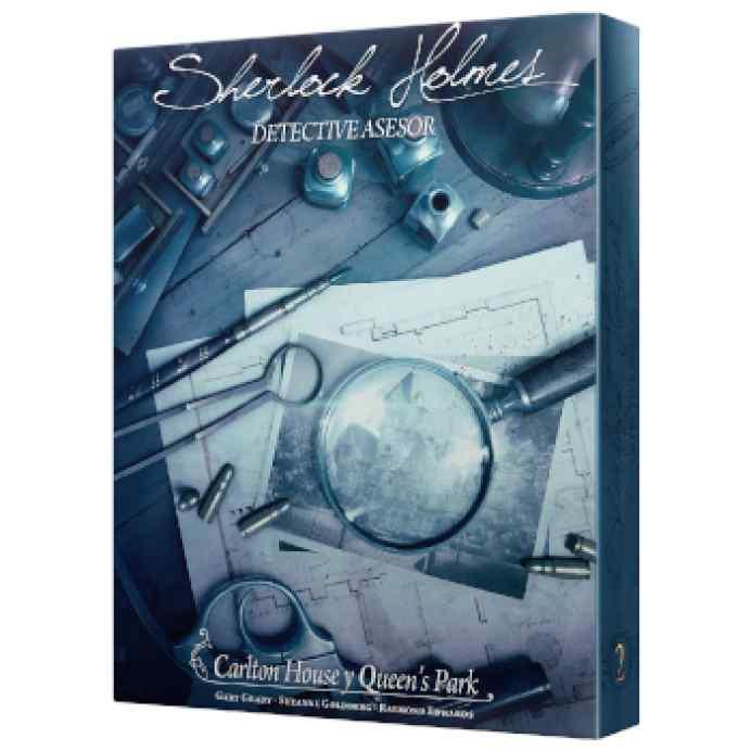 Sherlock Holmes Detective Asesor: Carlton House y Queen's Park TABLERUM