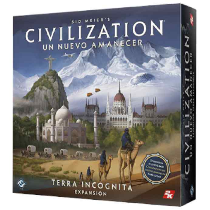 Sid Meier's Civilization: Un nuevo amanecer: Terra Incognita TABLERUM