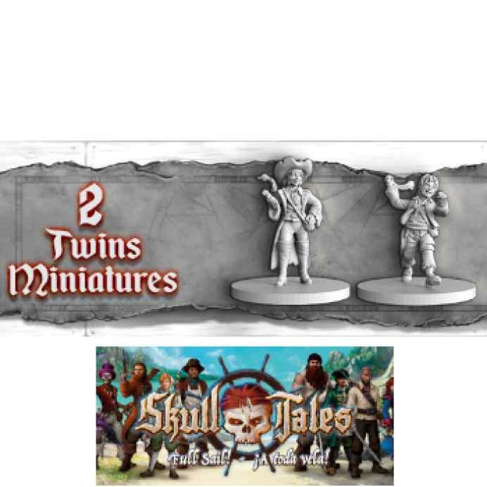 Skull Tales: Piratas Mellizos TABLERUM