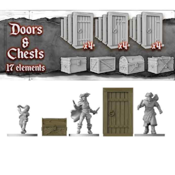 Skull Tales (Ed. Kikstarter) + Add Ons Puertas y Cofres TABLERUM