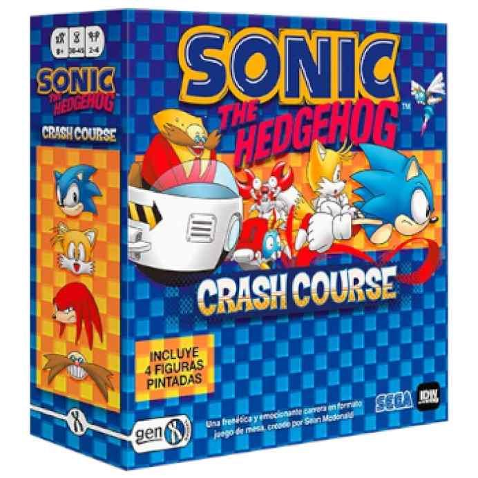 Sonic The Hedgehog Crash Course TABLERUM
