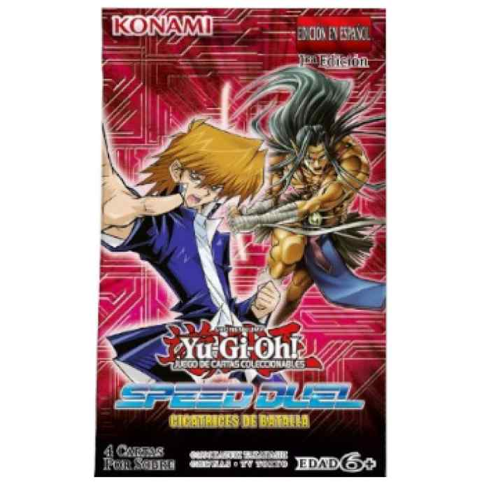 Yu-Gi-Oh!: Speed Duel: Sobre 4 Cartas Cicatrices de Batalla TABLERUM