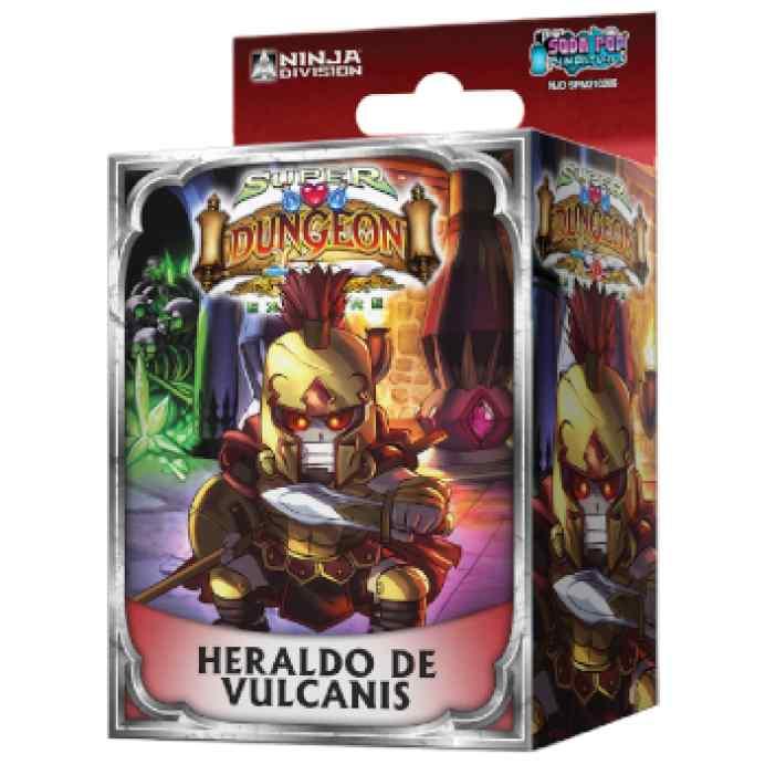 Super Dungeon Explore: Heraldo de Vulcanis TABLERUM