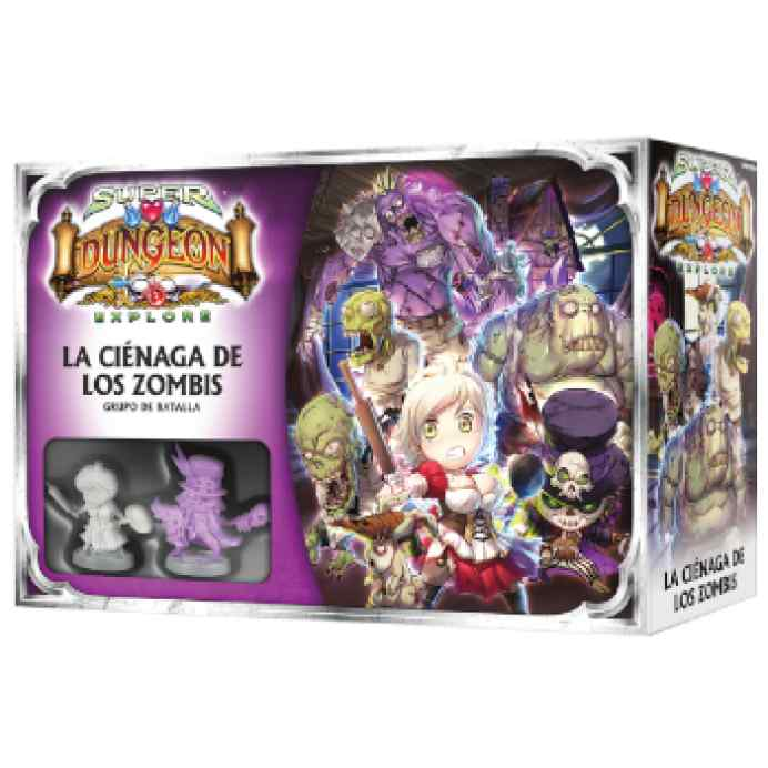 Super Dungeon Explore: La Ciénaga de los Zombis TABLERUM