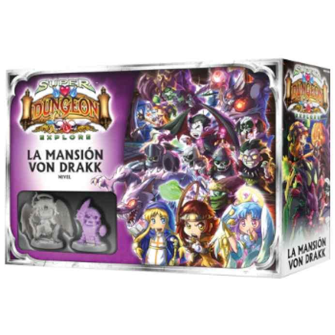 Super Dungeon Explore: La Mansión Von Drakk TABLERUM