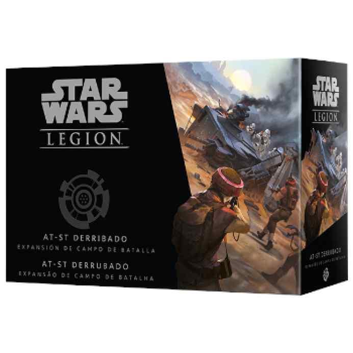 Star Wars Legión: AT-ST Derribado TABLERUM