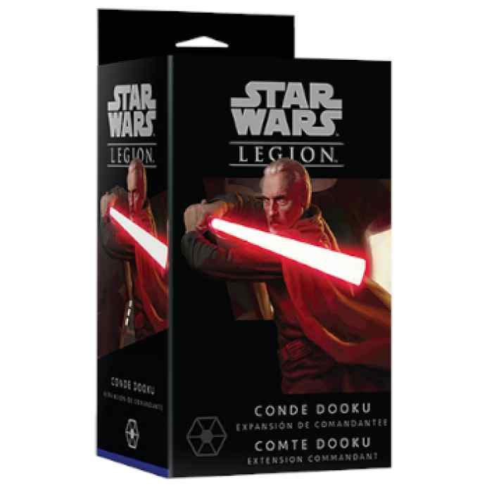 Star Wars Legión: Conde Dooku TABLERUM