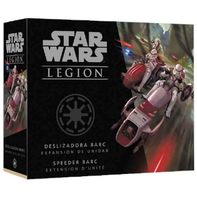 Star Wars Legión: Deslizadora BARC TABLERUM