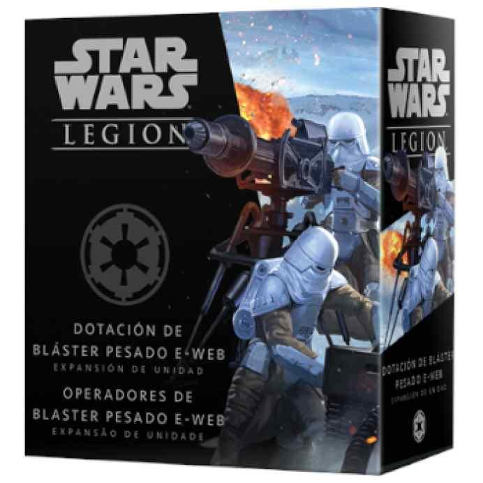 Star Wars Legión: Operadores de bláster pesado E-Web TABLERUM