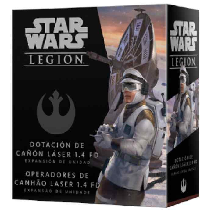 Star Wars Legión: Dotación de cañón láser 1.4 FD TABLERUM