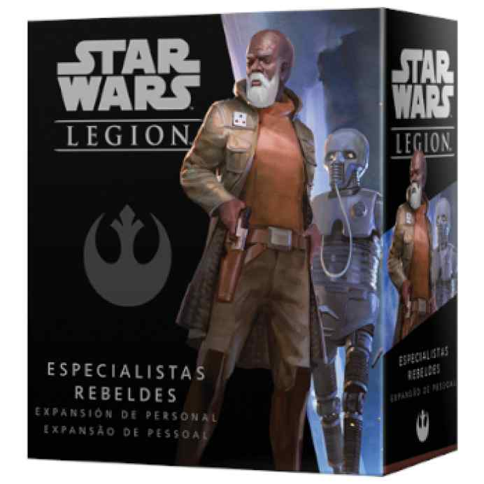 Star Wars Legión: Especialistas Rebeldes TABLERUM