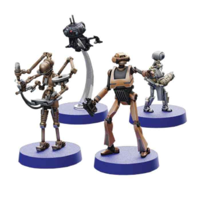 Star Wars Legión: Especialistas Separatistas Expansión de Personal TABLERUM