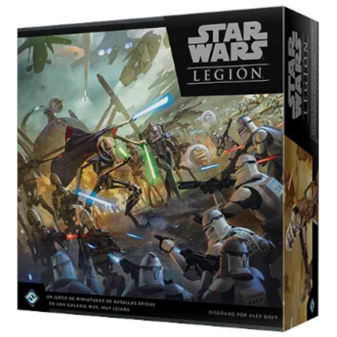 Star Wars Legión: Las Guerras Clon TABLERUM