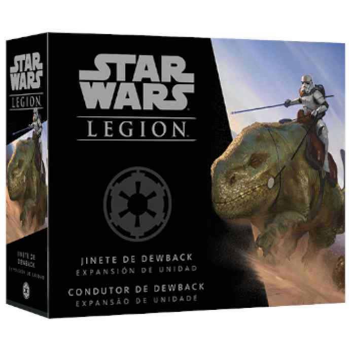 Star Wars Legión: Jinete de Dewback TABLERUM