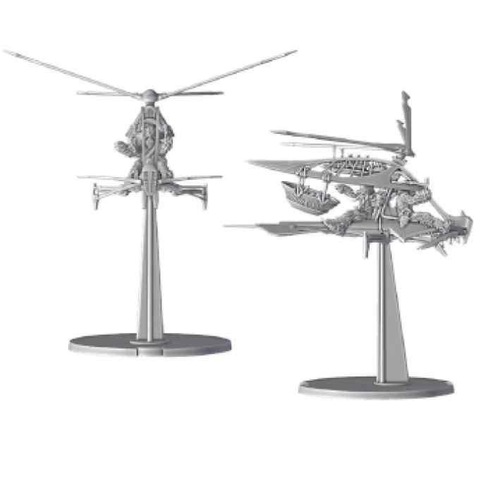 Star Wars Legión: Ornitóptero Mosvispa Raddaugh TABLERUM