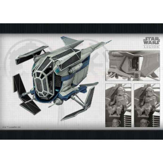 Star Wars Legión: Patrullera de Transporte LAAT/le TABLERUM