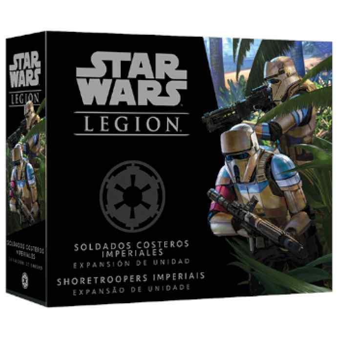 Star Wars Legión: Soldados Costeros Imperiales TABLERUM