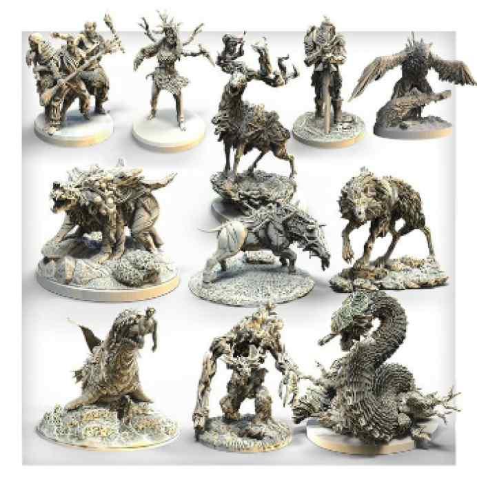 Tainted Grail: Monstruos de Ávalon (Pack de miniaturas) TABLERUM