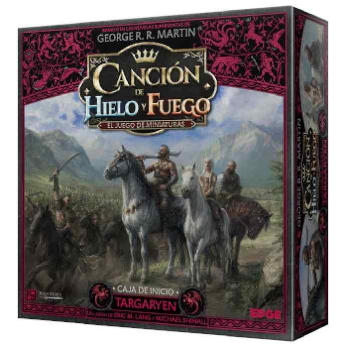 Canción de Hielo y Fuego El Juego de Miniaturas: Targaryen Caja de Inicio TABLERUM