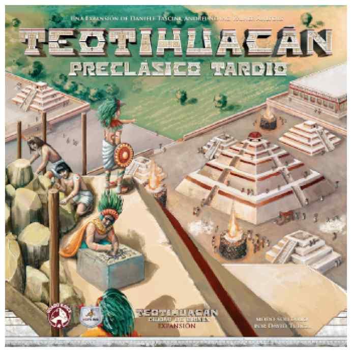 Teotihuacán: Preclásico Tardío TABLERUM