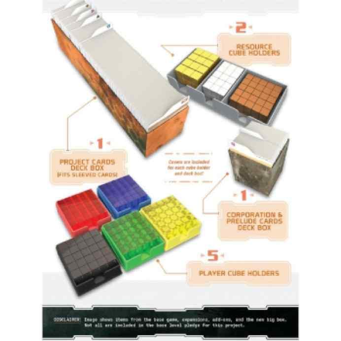 Terraforming Mars: Caja de Componentes Deluxe + Promos TABLERUM