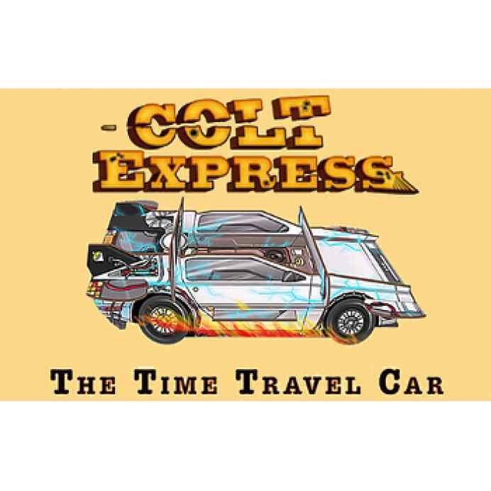 Colt Express De Lorean