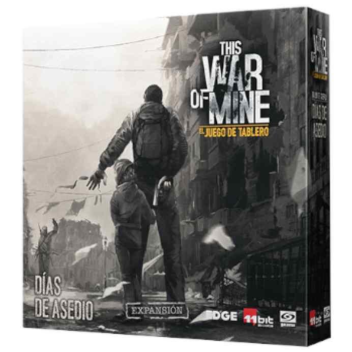 This War of Mine: Diarios de guerra: Días de Asedio TABLERUM