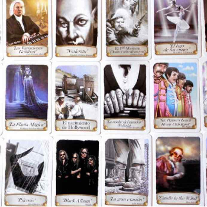 juego de cartas timeline