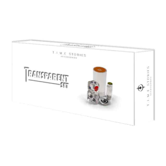 Time Stories Transparent Set Piezas Transparentes TABLERUM