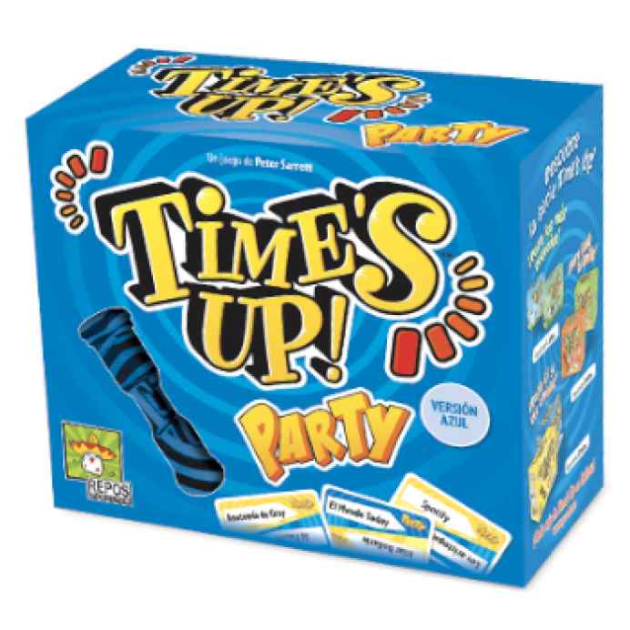 Time's Up Party 2 (Azul) TABLERUM