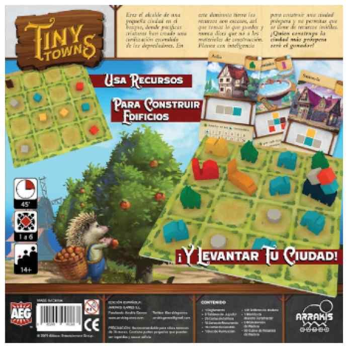 Tiny Towns TABLERUM