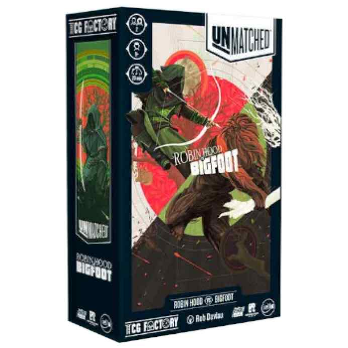 Unmatched: Robin Hood VS Bigfoot TABLERUM